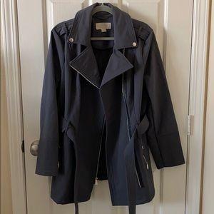 Michael Kors Grey Coat - Size Large - New